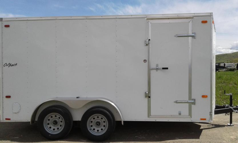 2019 Pewter Pace OutBack 7 x 14 , located at 80 Big Timber Loop Road, Big Timber, MT, 59011, (406) 860-8510, 45.837139, -109.951393 - Photo #2
