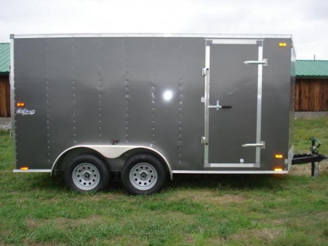 2019 Pewter Pace OutBack 7 x 14 , located at 80 Big Timber Loop Road, Big Timber, MT, 59011, (406) 860-8510, 45.837139, -109.951393 - Photo #6
