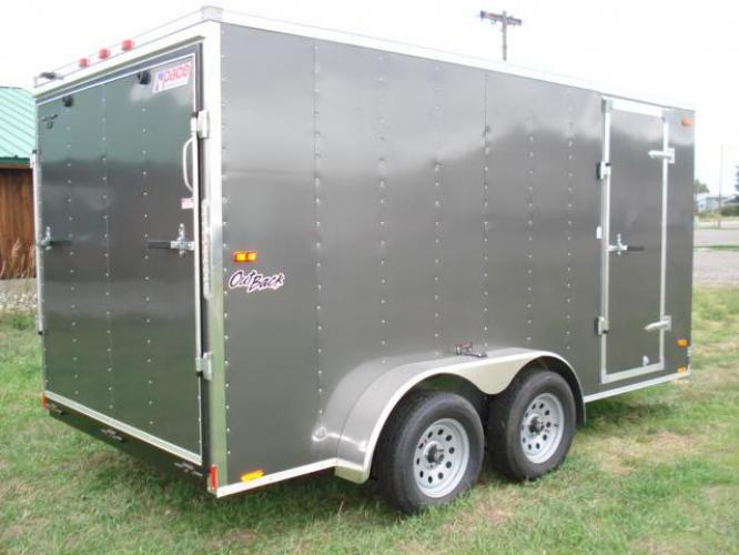 2019 Pewter Pace OutBack 7 x 14 , located at 80 Big Timber Loop Road, Big Timber, MT, 59011, (406) 860-8510, 45.837139, -109.951393 - Photo #7
