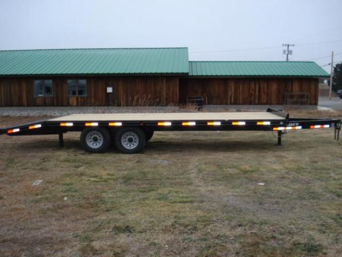 2019 Black DCT 81/2 x 20 4 Deckover Equip , located at 80 Big Timber Loop Road, Big Timber, MT, 59011, (406) 860-8510, 45.837139, -109.951393 - Photo #0