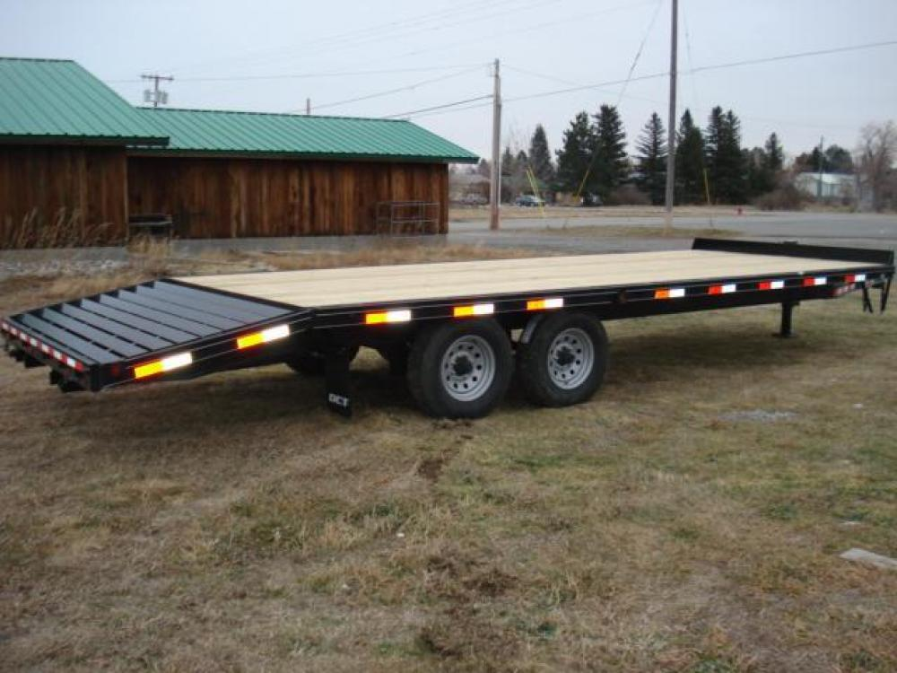 2021 Black DCT 81/2 x 20 + 4 Deckover Equip , located at 80 Big Timber Loop Road, Big Timber, MT, 59011, (406) 860-8510, 45.837139, -109.951393 - Photo #1
