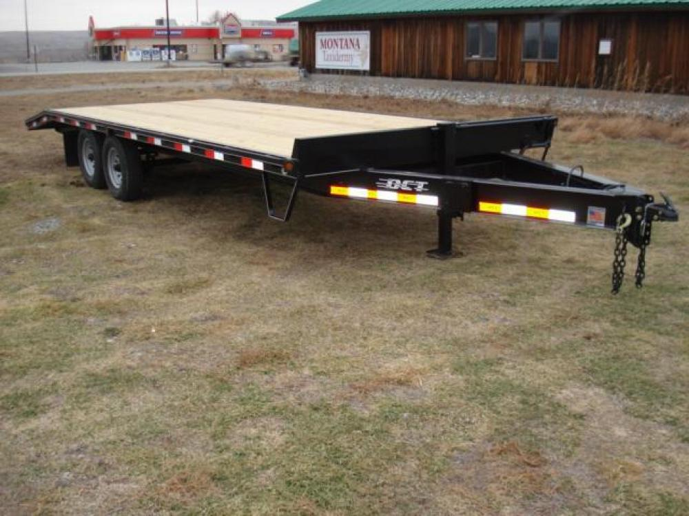 2021 Black DCT 81/2 x 20 + 4 Deckover Equip , located at 80 Big Timber Loop Road, Big Timber, MT, 59011, (406) 860-8510, 45.837139, -109.951393 - Photo #2