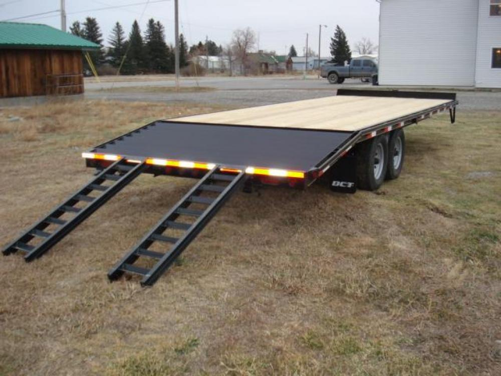 2021 Black DCT 81/2 x 20 + 4 Deckover Equip , located at 80 Big Timber Loop Road, Big Timber, MT, 59011, (406) 860-8510, 45.837139, -109.951393 - Photo #5
