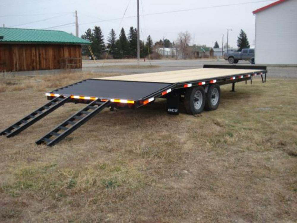 2021 Black DCT 81/2 x 20 + 4 Deckover Equip , located at 80 Big Timber Loop Road, Big Timber, MT, 59011, (406) 860-8510, 45.837139, -109.951393 - Photo #6