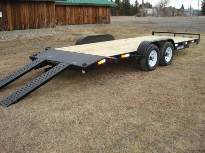2019 Black SureTrac 7 x 20-10K Car Hauler , located at 80 Big Timber Loop Road, Big Timber, MT, 59011, (406) 860-8510, 45.837139, -109.951393 - Photo #7