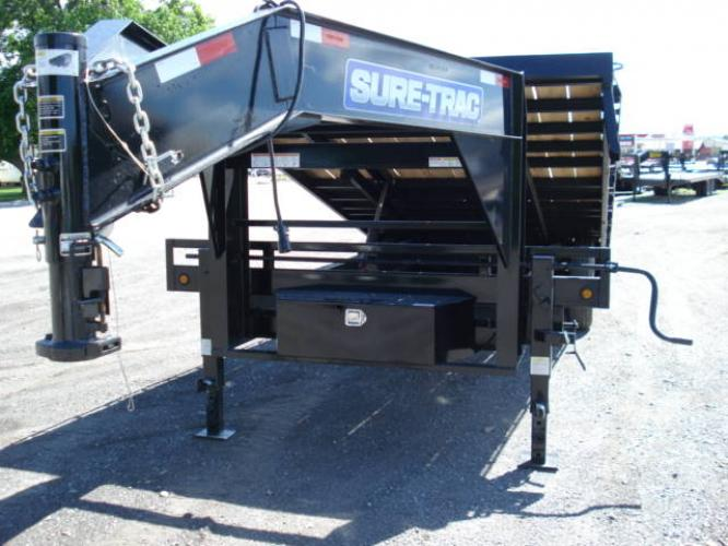2020 Black SureTrac 81/2 x 24 GN Deckover P Tilt , located at 80 Big Timber Loop Road, Big Timber, MT, 59011, (406) 860-8510, 45.837139, -109.951393 - Photo #8