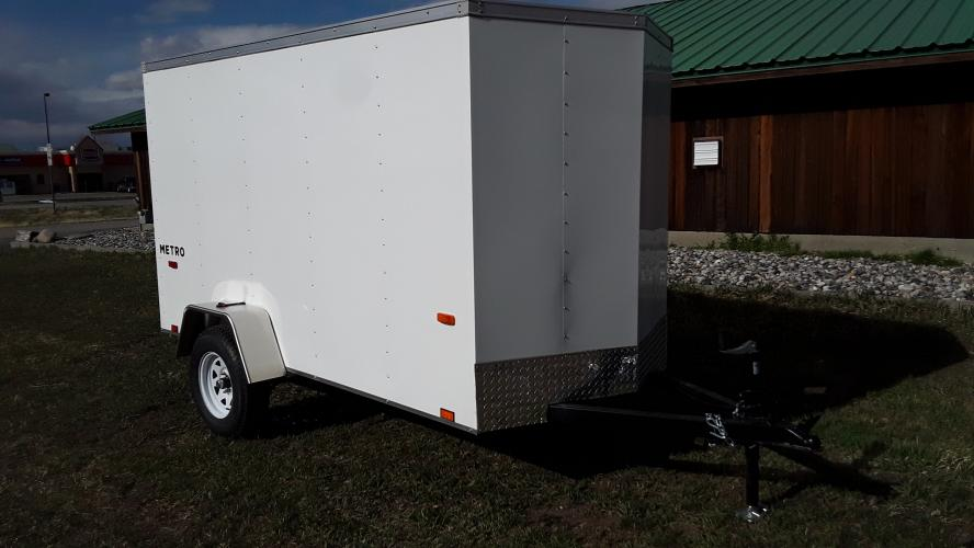 2021 White Pace 5 x 10 Metro , located at 80 Big Timber Loop Road, Big Timber, MT, 59011, (406) 860-8510, 45.837139, -109.951393 - Photo #3