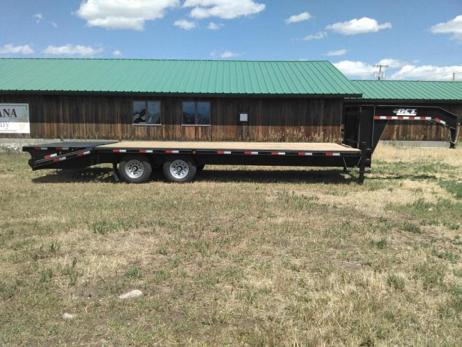 2019 Black DCT 81/2 x 25 GN Deckover , located at 80 Big Timber Loop Road, Big Timber, MT, 59011, (406) 860-8510, 45.837139, -109.951393 - Photo #0
