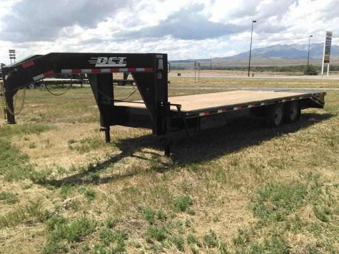 2019 Black DCT 81/2 x 25 GN Deckover , located at 80 Big Timber Loop Road, Big Timber, MT, 59011, (406) 860-8510, 45.837139, -109.951393 - Photo #3