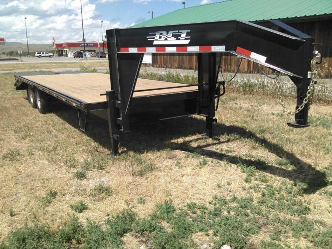 2019 Black DCT 81/2 x 25 GN Deckover , located at 80 Big Timber Loop Road, Big Timber, MT, 59011, (406) 860-8510, 45.837139, -109.951393 - Photo #5