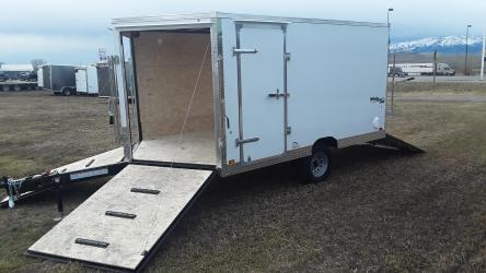Pace American 81/2 x 12 Whiteout Snowmobile/ATV Trailer