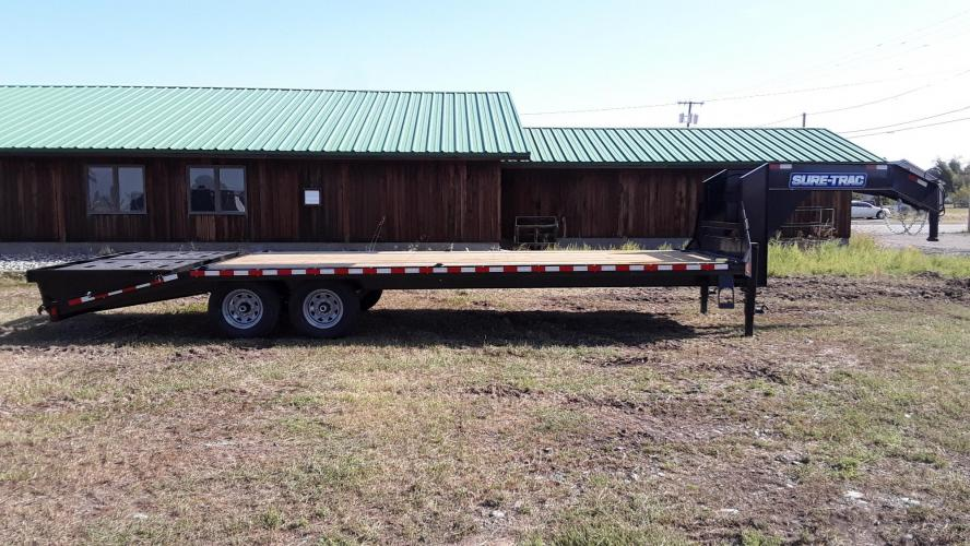 2021 SureTrac 81/2 x 25 GN Deckover , located at 80 Big Timber Loop Road, Big Timber, MT, 59011, (406) 860-8510, 45.837139, -109.951393 - Photo #0