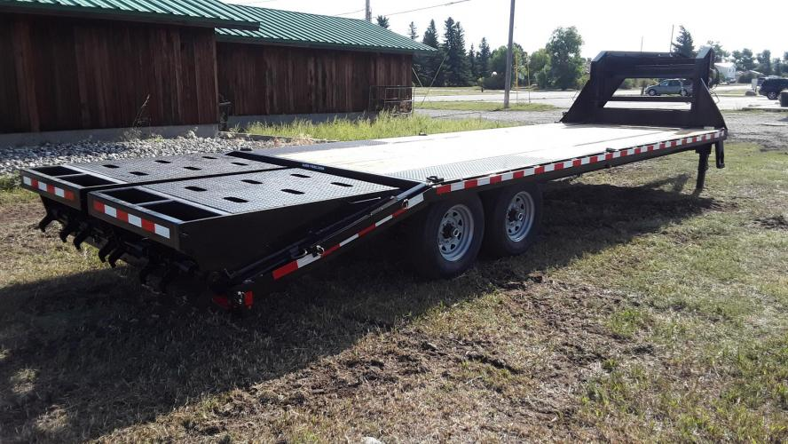 2021 SureTrac 81/2 x 25 GN Deckover , located at 80 Big Timber Loop Road, Big Timber, MT, 59011, (406) 860-8510, 45.837139, -109.951393 - Photo #1