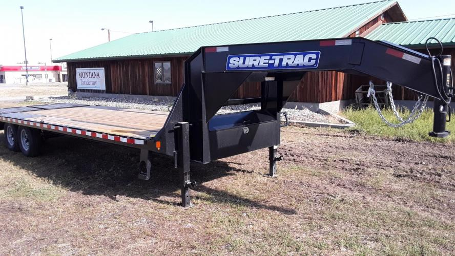 2021 SureTrac 81/2 x 25 GN Deckover , located at 80 Big Timber Loop Road, Big Timber, MT, 59011, (406) 860-8510, 45.837139, -109.951393 - Photo #2