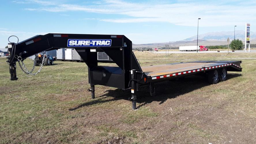 2021 SureTrac 81/2 x 25 GN Deckover , located at 80 Big Timber Loop Road, Big Timber, MT, 59011, (406) 860-8510, 45.837139, -109.951393 - Photo #3